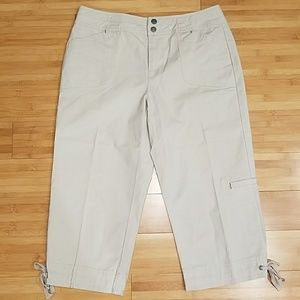 Coldwater Creek Cropped Pant